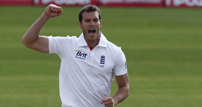 Chris Tremlett will be looking to bag more wickets at Lord's