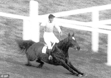 The teams in the running for the County Championship have habitually resembled Devon Loch's famous stumble in the 1957 Grand National