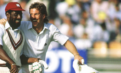 Ian Botham and Viv Richards would get the chance to play together in our Cricket Heroes XI