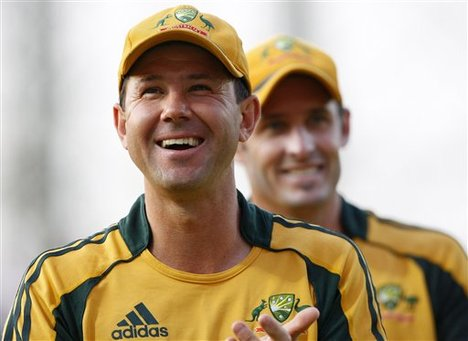 Ricky Ponting and Mike Hussey lead the applause for the Australian selectors age-friendly picks