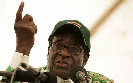 Robert Mugabe gives himself out - something the ICC couldn't bring itself to do