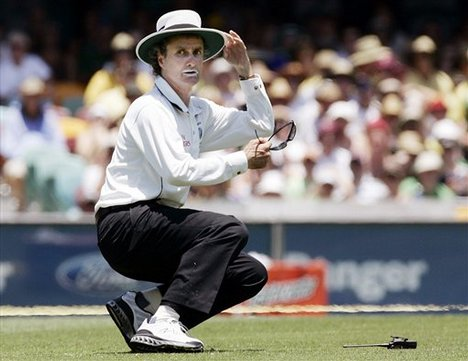 Billy Bowden, probably the worst umpire in the world on or off the field
