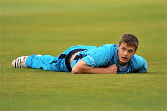 Jonathan Clare will be hoping his and Derbyshire's hopes this season don't fall flat