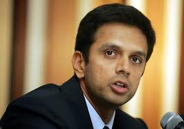 Rahul Dravid who had a stunning year at and away from the crease in 2011