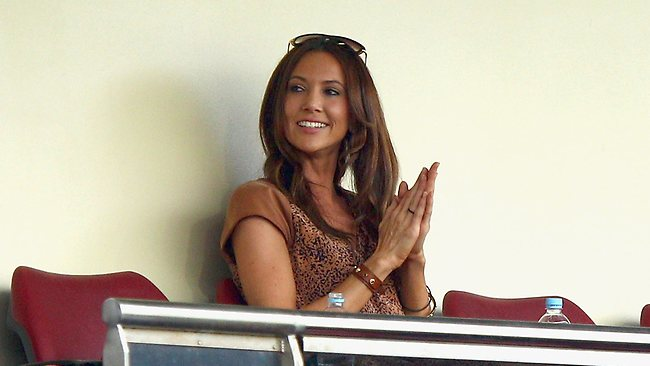 Kyly Boldy - the object of Tony Greig and Michael Slater's desire