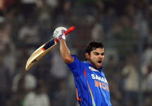 Virat Kohli seems quite pleased with his 183 against Pakistan in Mirpur