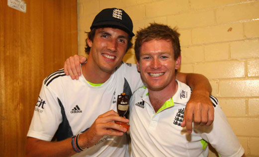 Middlesex supporters will be hoping to see plenty of Steve Finn and Eoin Morgan in 2012 - their survival in Division 1 could depend upon it