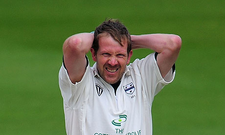 Worcestershire fans will hope to see Alan Richardson happier than this in 2012