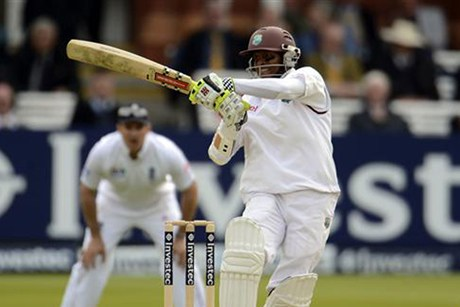More runs at Lord's from Shivnarine Chanderpaul