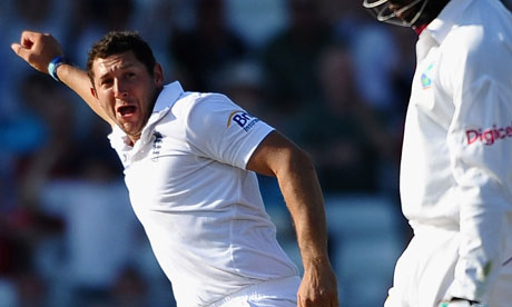 It was lucky number 13 for Tim Bresnan at Trent Bridge