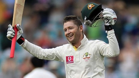 Simon Katich's favourite ex-team mate Michael Clarke is doing rather well