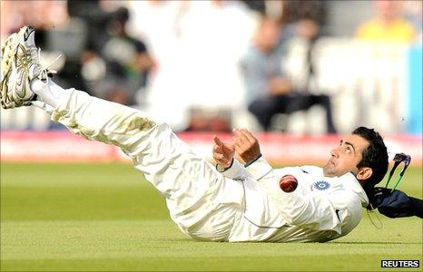 Gautam Gambhir batted as if concussed in Test cricket throughout 2011