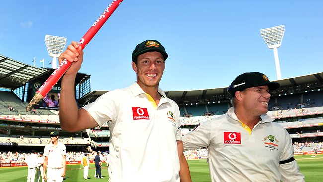 James Pattinson and David Warner both made an instant impression in Test cricket in 2011
