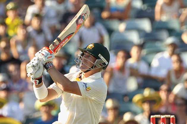 David Warner took India to the cleaners at the WACA