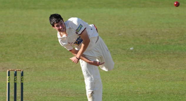 George Dockrell was in the wickets for Somerset against Middlesex at Taunton