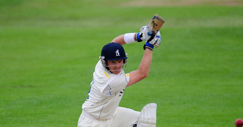 Ian Bell was back in the runs (at last) at Edgbaston against Durham