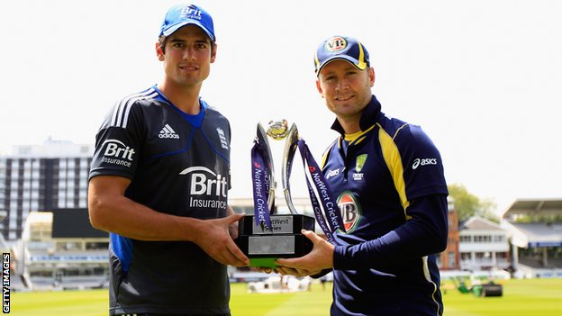 Even Alastair Cook and Michael Clarke look underwhelmed about the prospect of the entirely unnecessary ODI series
