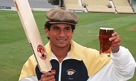 Raise a pint to Sachin Tendulkar's remarkable international career